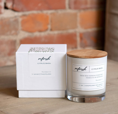 Refresh Boxed Candle in 11 oz - Treehouse Gift & Home