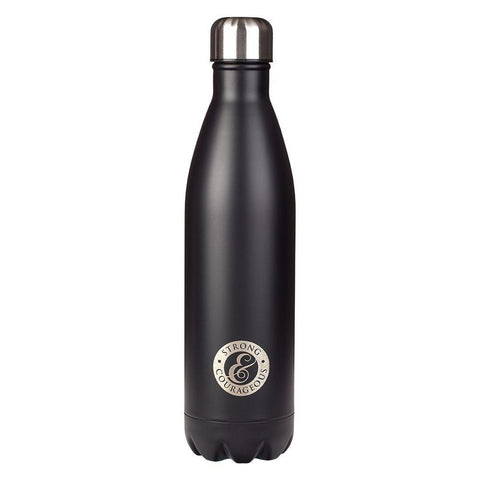 SS Water Bottle Strong & Couragec - Treehouse Gift & Home