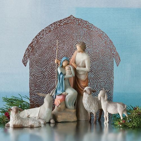Shelter for the Holy Family Willow - Treehouse Gift & Home