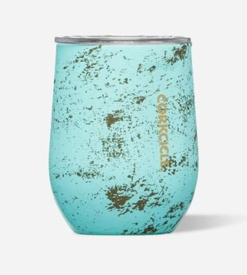 Stemless - 12 oz Bali Blue - Treehouse Gift & Home
