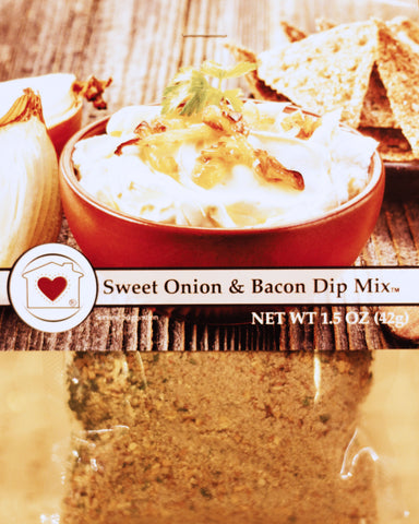 Sweet Onion & Bacon Dip Mix Country Home Creations