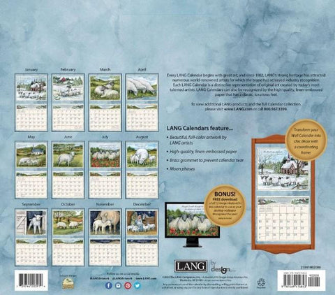 THE LORD IS MY SHEPHERD 2021 Wall Calendar - Treehouse Gift & Home