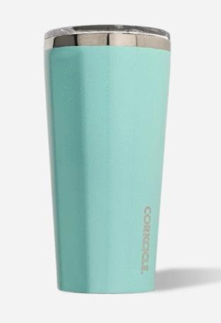 Tumbler - 16oz Gloss Turquoise - Treehouse Gift & Home