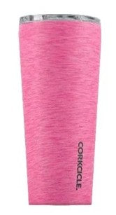 Tumbler - 24oz Heathered Pink - Treehouse Gift & Home
