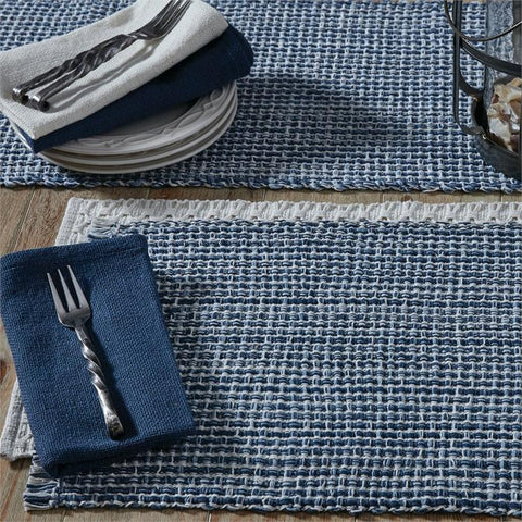 Tweed Placemat - Denim - Treehouse Gift & Home