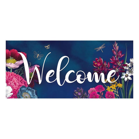 Vivid Bouquet Welcome Sassafras Switch Mat - Treehouse Gift & Home
