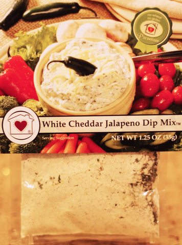 White Cheddar Jalapeno Dip Mix Country Home Creations