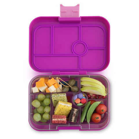 YUMBOX Bijoux Purple Lunchbox & Tray Insert - Treehouse Gift & Home