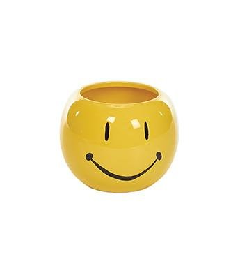 Yellow Face Planter - Treehouse Gift & Home