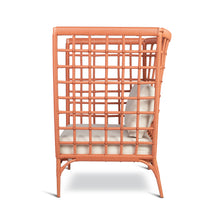 Load image into Gallery viewer, AVIVA HIGH LOUNGE CHAIR IN CORAL