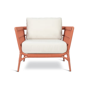 AVIVA LOUNGE CHAIR IN CORAL