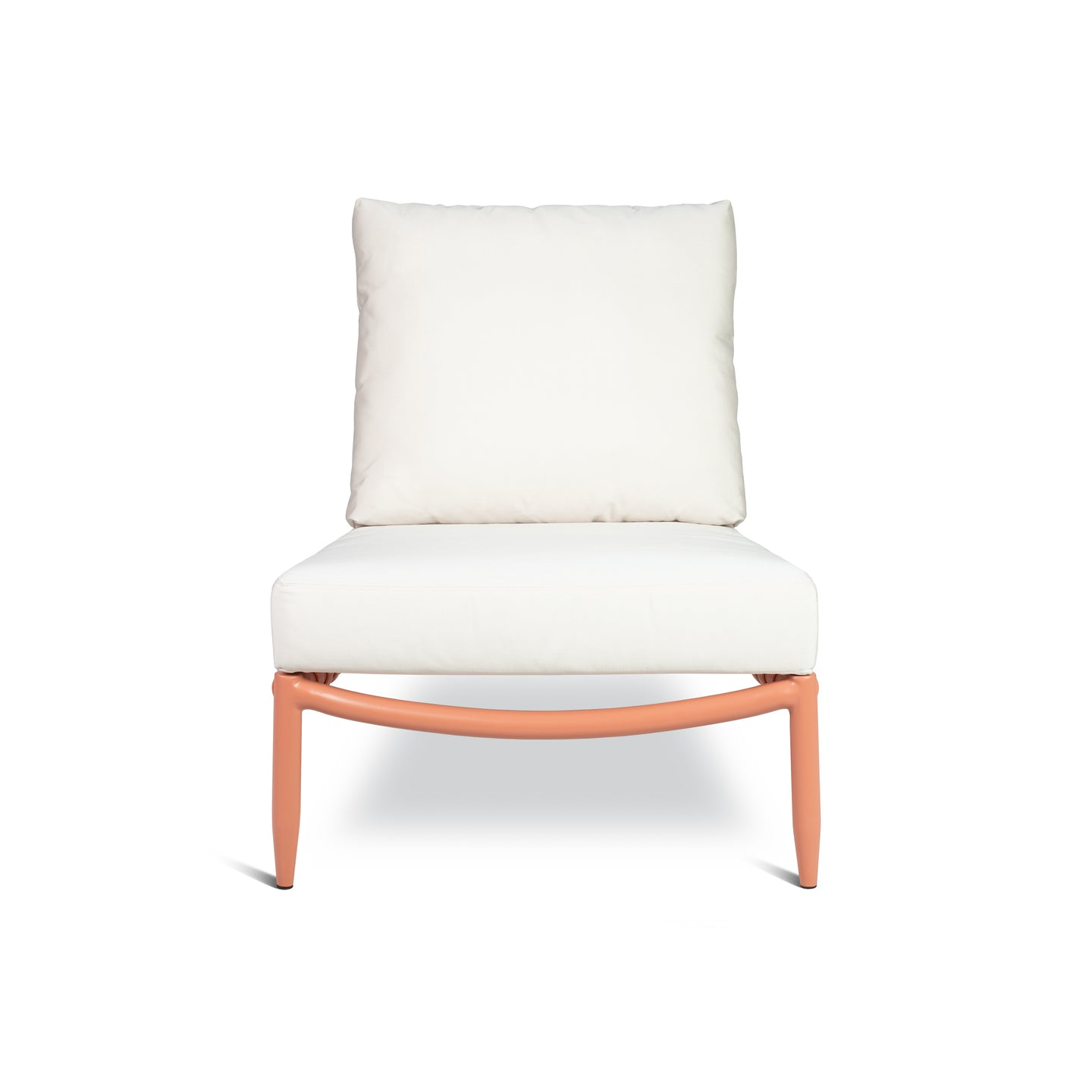 PERRY LOUNGE CHAIR IN CORAL