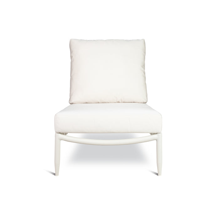 PERRY LOUNGE CHAIR IN WHITE