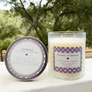 Lavender Fields 2 wick jar candle