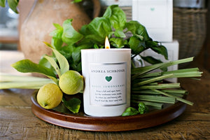 Basil Lemongrass 10.5oz Candle