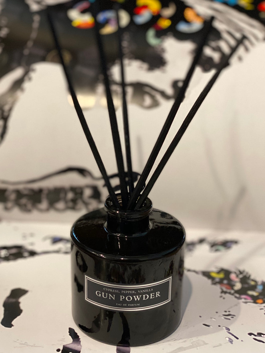 Gun Powder Reed Diffuser