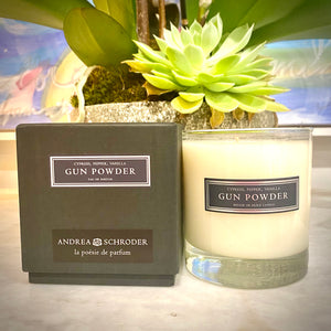 Gun Powder 8oz Candle