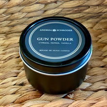 Gun Powder Travel Candle