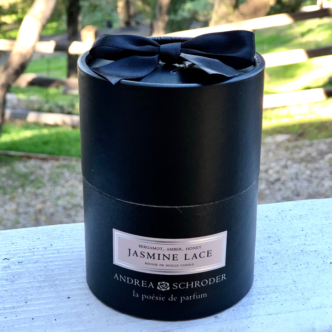 Jasmine Lace 8oz Candle