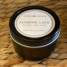 Jasmine Lace Travel Candle