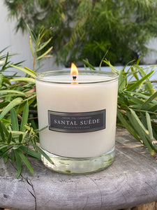 Santal Suede 8oz Candle