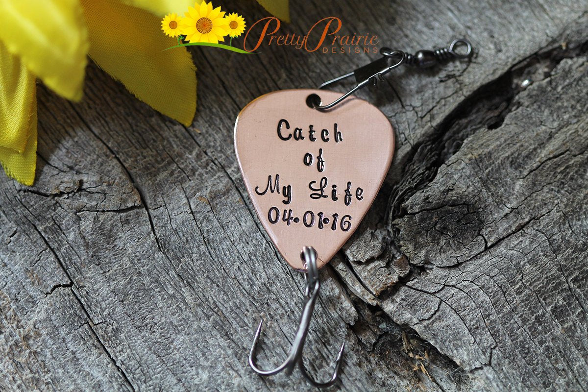 734494360 Personalized Fishing Lure - Custom Made Lure - Fishing Gifts - Lure  Engagement - Catch of
