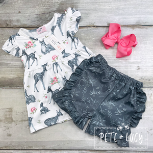 My Deer Tee and Shorts Set