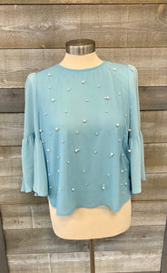 Blue Pearl Top