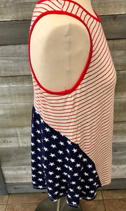 Stars and Stripes Racer Back Tank