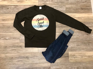 Spirit Lead Me Crew Neck Sweatshirt