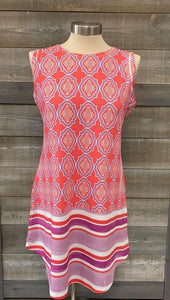 70's Style Scoop Neck Tank Dress