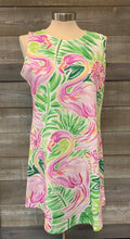 Flamingo Scoop Neck Tank Dress