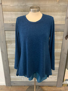 Royal Blue Long Sleeve Tunic