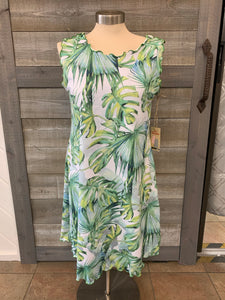 Palm Leaf Reversible Dress