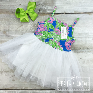 Save the Turtles Tutu Dress