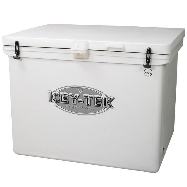 450 Quart - Icey-Tek Cooler / Large Ice Chest (With Runners)