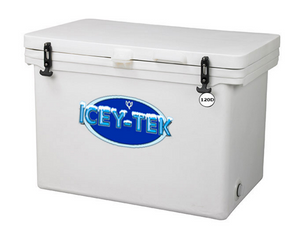 120 Quart - Icey-Tek Cooler / Ice Chest - Divided Interior