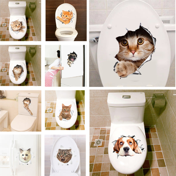 Stickers 3D Animaux