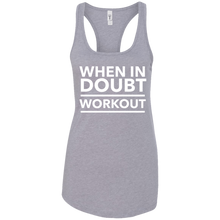 When in Doubt Work Out Tank
