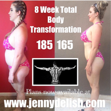 8 WEEK TOTAL BODY TRANSFORMATION EBOOK FOR WOMEN