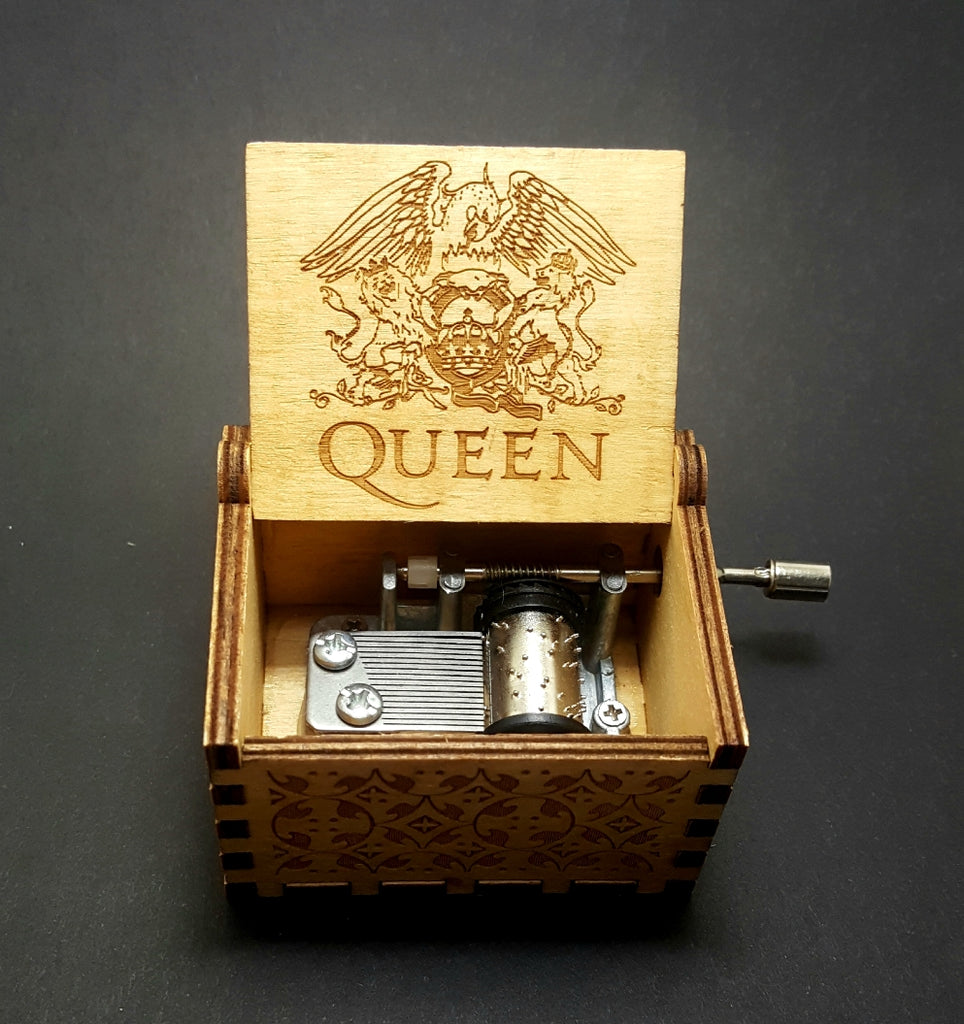 Queen - Bohemian Rhapsody Music Box - Lunga Vita Designs