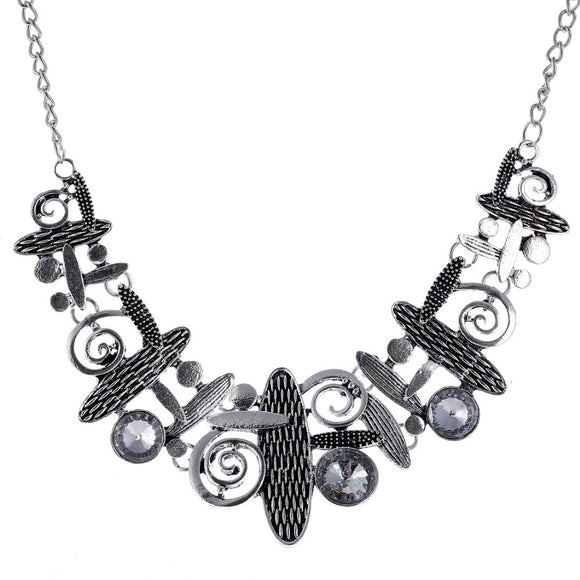 ART DECO INSPIRED STATEMENT NECKLACE SET