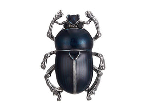 BEETLE BROOCH | BLUE