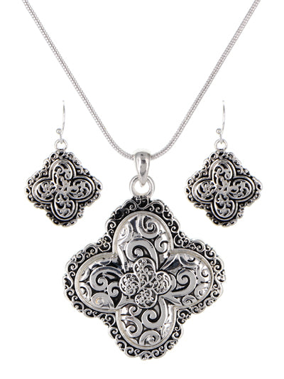 FILIGREE TAILORED NECKLACE SET