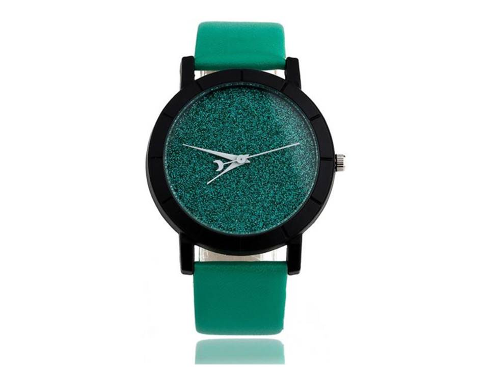 Stardust Watch | Green - Lunga Vita Designs