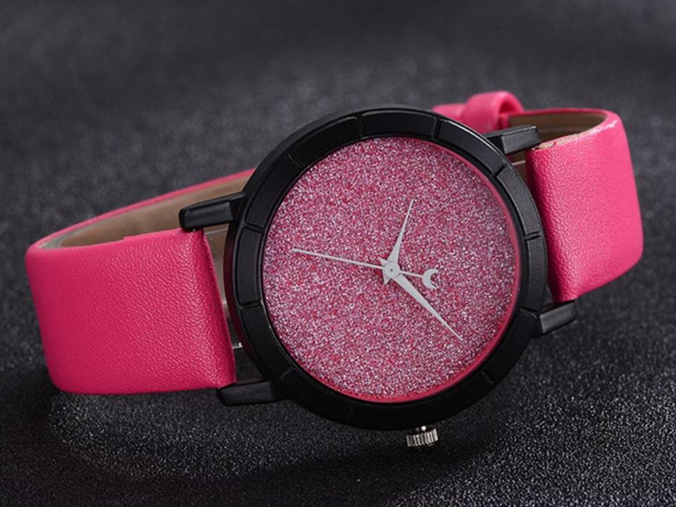 Stardust Watch | Pink - Lunga Vita Designs