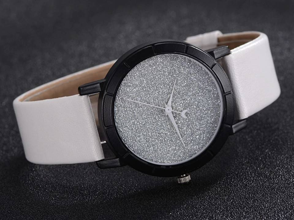 Stardust Watch | White - Lunga Vita Designs
