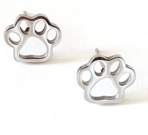 PAW POST EARRINGS