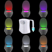 Motion Activated Toilet Night Light 8 Colors -Modern lighting Lighting Salon
