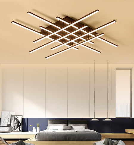 Modern Square Ceiling Lights (Various Options) Surface Mounted